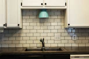 Subway Tile Ideas For Kitchen Backsplash How To Install A Subway Tile Kitchen Backsplash