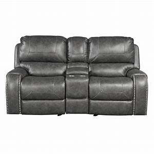 Millwood Pines Stampley Leather Air Manual Reclining