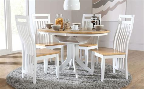 white kitchen table with 4 chairs top 20 small white extending dining tables dining room ideas