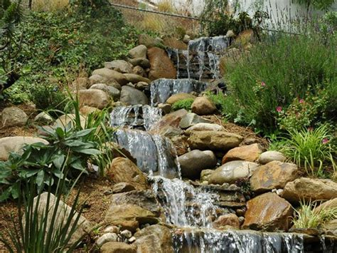 waterfall design ideas 17 best images about steep slopes landscape on