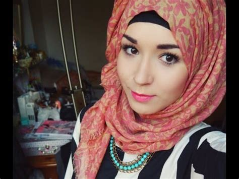 hijab tutorial  everyday style normal twist