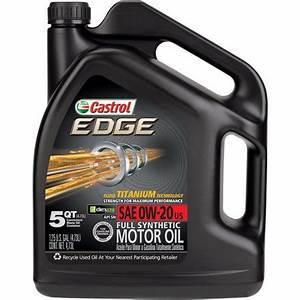 Castrol Edge 0w30 : castrol edge syntec full synthetic 0w 20 motor oil 5 ~ Melissatoandfro.com Idées de Décoration