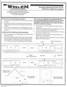 Diagram  Whelen 9m Light Bar Wire Diagram
