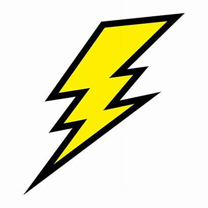 Bolt Lightning Vector Icon Electric Clipart Fotosearch
