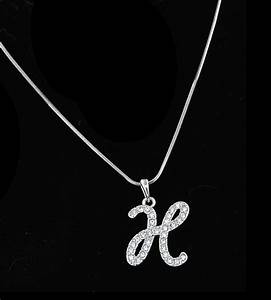 necklaces personalized necklace jewelry with letter h With letter h necklace