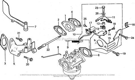 Honda Hra Sda Lawn Mower Jpn Vin