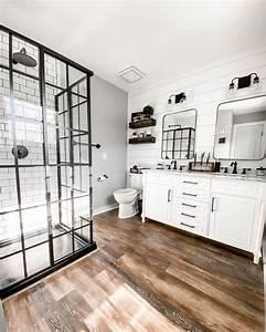 Modern, Farmhouse, Master, Bathroom, Remodel