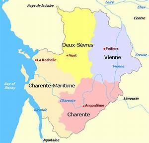 Poitiers Carte De France : where is the charente charente properties for sale ~ Dailycaller-alerts.com Idées de Décoration