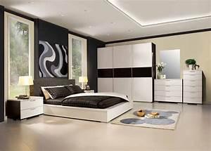 Deco Chambre Moderne : id es de d coration moderne et design pour une grande chambre ~ Melissatoandfro.com Idées de Décoration