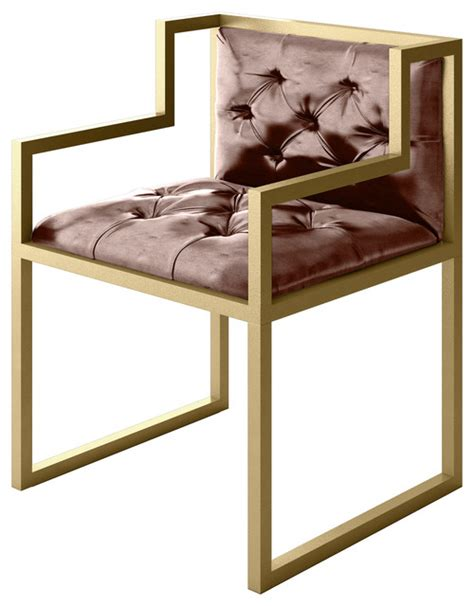 bradley modern metal chair with frame modern armchairs
