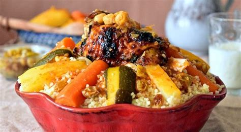 cuisine espagnole facile couscous au poulet aux légumes le cuisine de samar