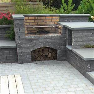 Barbecue En Pierre Mr Bricolage : barbecue en pierre sur terrasse ~ Dallasstarsshop.com Idées de Décoration
