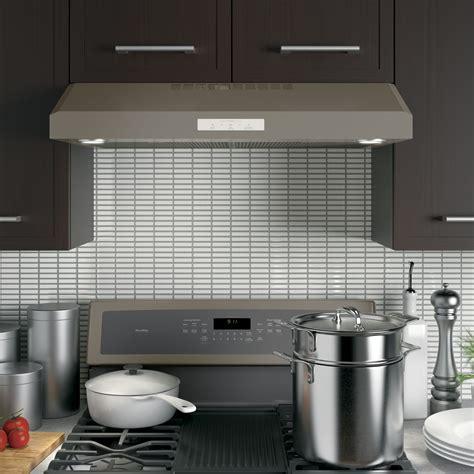 pvxejes ge profile   cabinet range hood slate