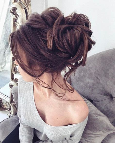 ideas  brunette updo  pinterest wedding