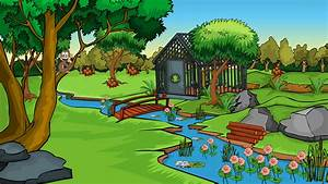 Zoo Cartoon Wallpaper