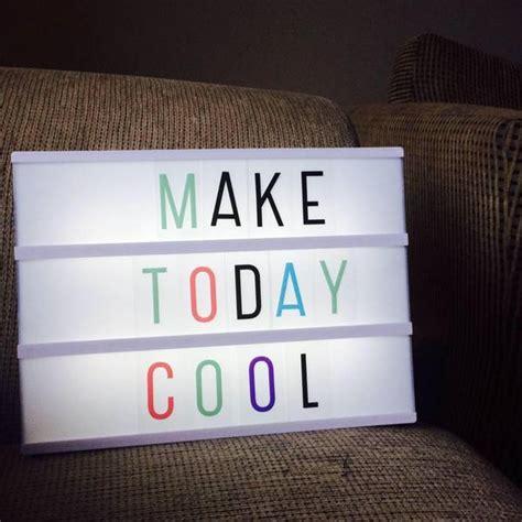 lightbox inspiration ideas    write phrases