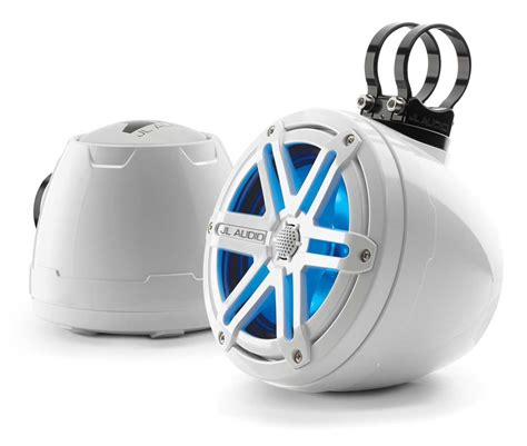 jl audio  white marine cockpit coaxial system