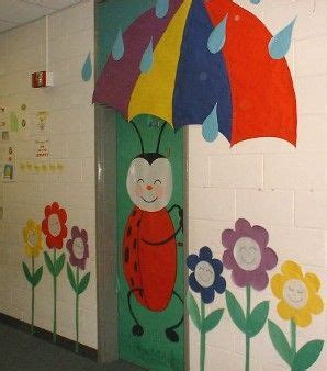 spring projects and bulletin board displays on pinterest