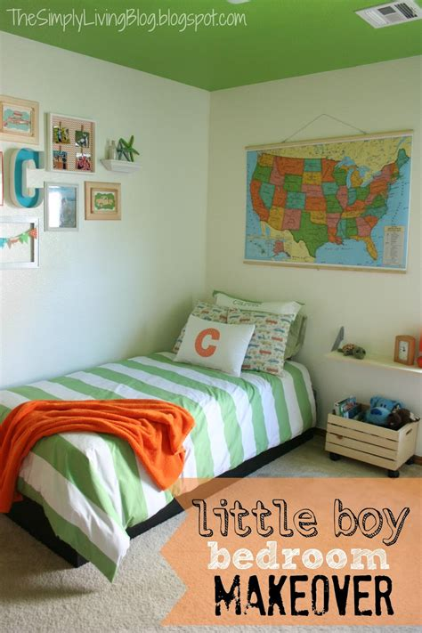 simply living  boy bedroom makeover