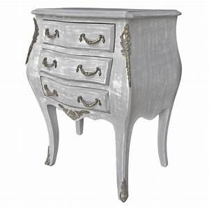 Table De Nuit Baroque : table chevet bois gris ~ Teatrodelosmanantiales.com Idées de Décoration