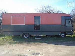 Camion Amenage Occasion Camion Am Nag Camping Car A Vendre Doccas