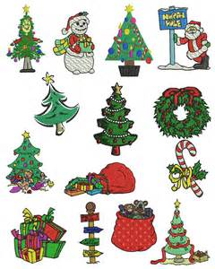 Free Brother PES Embroidery Designs Christmas