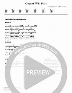 Daigle Charts Oceans Will Part Chords Hillsong Worship Praisecharts