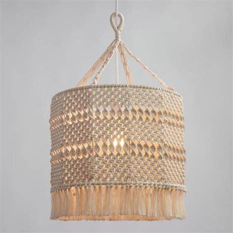 world market macrame lamp shade
