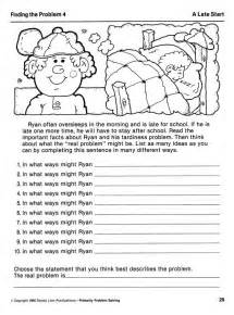 Adult Problem Solving Activities Worksheets