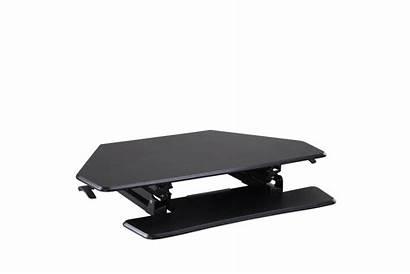 Ergolux Desk Corner Sit Riser Stand Adjustable