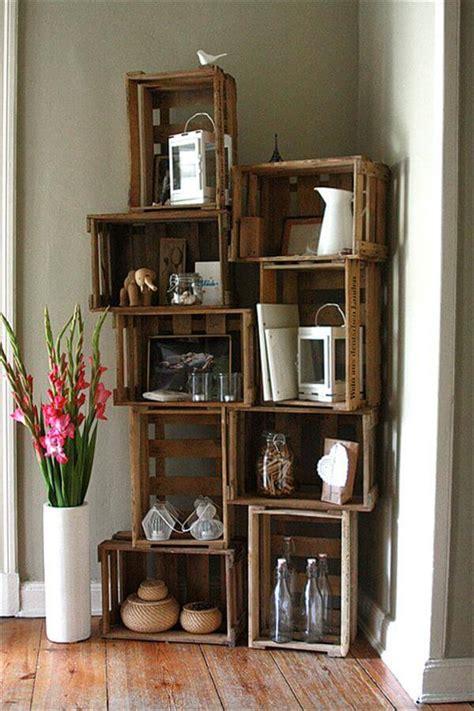 diy wooden crate furniture design ideas pallet
