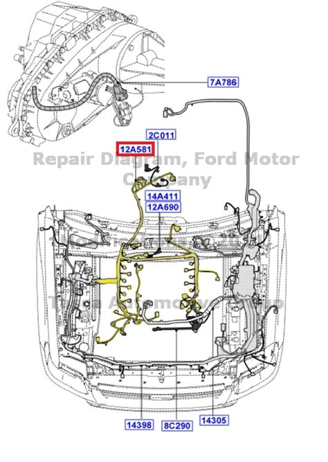 2002 Mercury Mountaineer Wiring Harnes by Oem Engine Wire Wiring Harness Ford Explorer Sport Trac