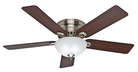 hunter springhill 52 quot brushed nickel ceiling fan at menards 174