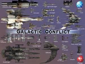 types of corvettes galactic conflict rts space ships