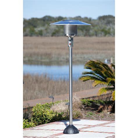sense stainless steel gas patio heater