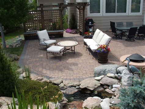 Backyard Patio Ideas by Paver Patio Ideas For Enchanting Backyard Amaza Design