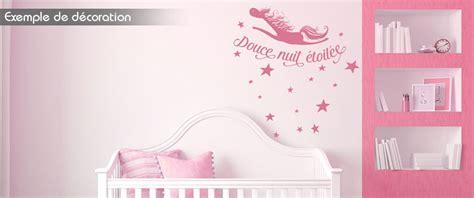 température chambre bébé nuit sticker enfant sticker douce nuit étoilée