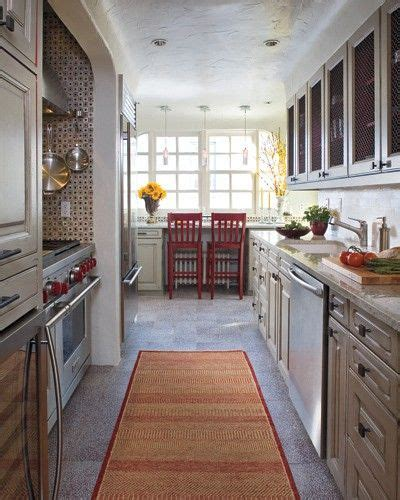 how to make a galley kitchen look larger 17 best ideas about galley style kitchen on 9786