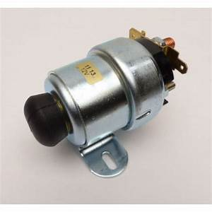 12v Starter Solenoid With Manual Button