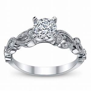 Cupid39s engagement ring pick for valentine39s 12 simon g for Vintage wedding ring settings