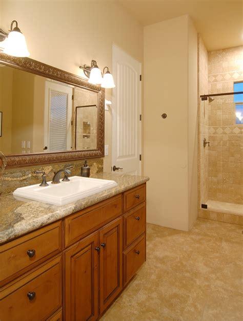 phoenix custom bathroom remodel  granite countertops