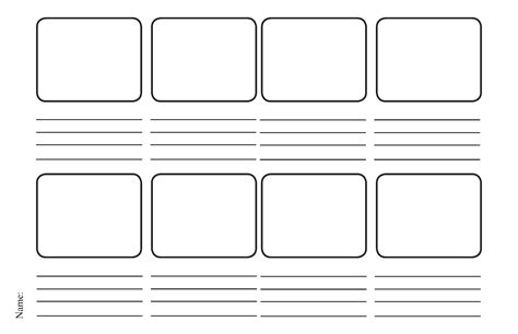 storyboard template and design october 2012