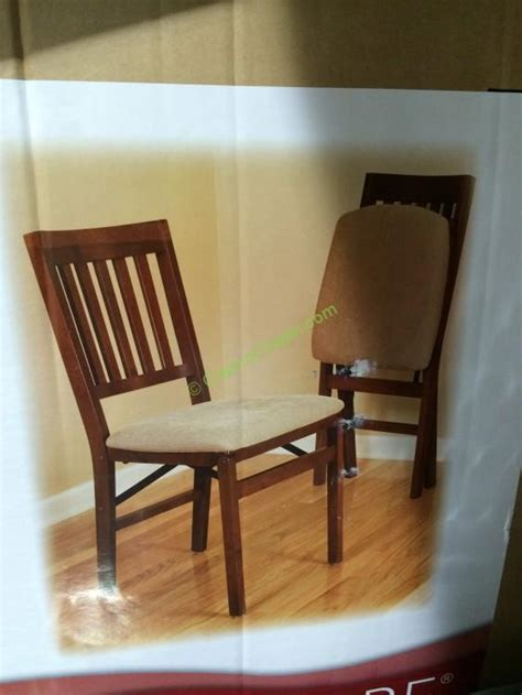 wood folding chairs costco home remodeling and