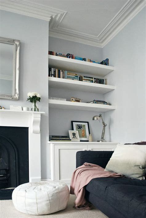 Ideas For Living Room Shelves by Brilliant Built In Shelves Ideas For Living Room 13