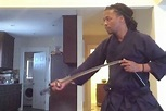 Lupe Fiasco Shows Off His Samurai Sword Skills - XXL