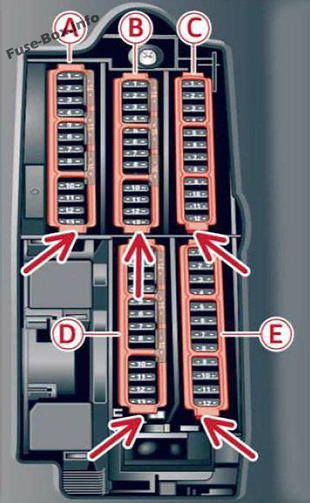 fuse box diagram audi  bw
