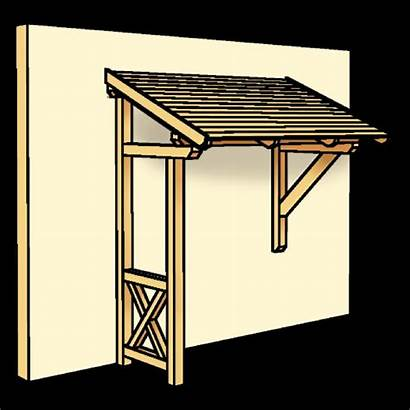 Holz Bauen Aus Selber Studio Vordach Haus