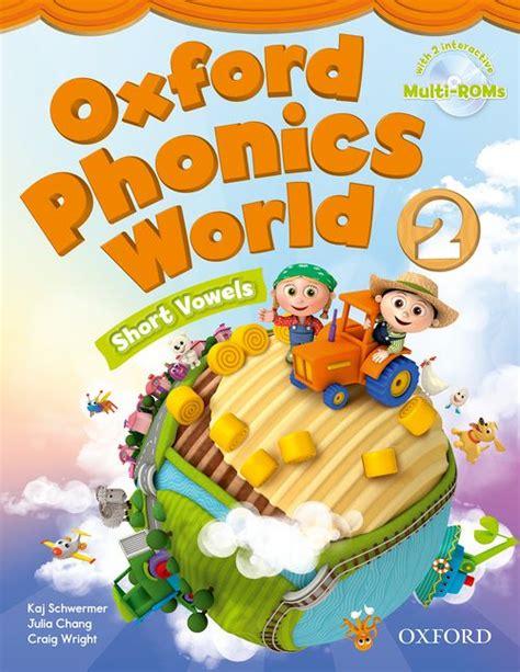 Oxford Phonics World  Student Book With Multirom (level 1) By Kaj Schwermer, Craig Wright And