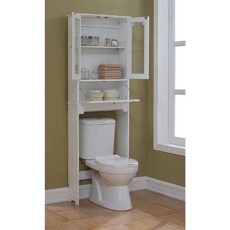 bathroom over the toilet storage cabinets remodelaholic 30 bathroom storage ideas