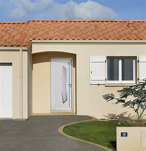 portes d39entree pvc orpin swao With avancee porte d entree